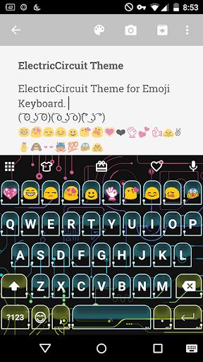 Electric Circuit Emoji Theme