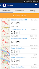 Map My Fitness Workout Trainer Screenshot 3