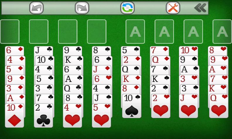 Freecell Screenshot