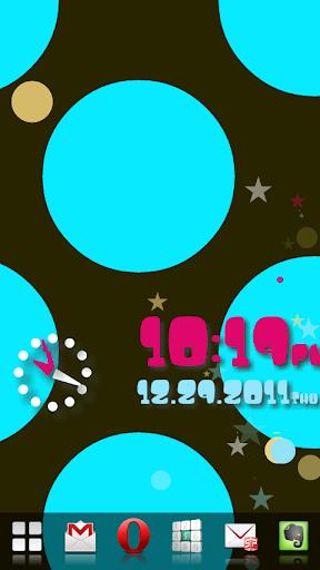 水玉★フロウ!アラーム時計|玩工具App免費|玩APPs