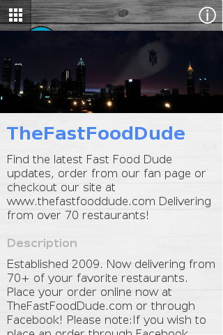 The Fast Food Dude