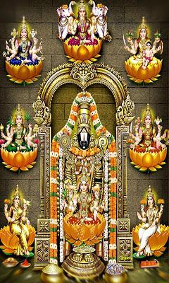 Lord Balaji Live Wallpaper
