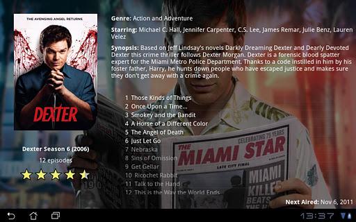 MovieBrowser HD 1.2.7.6 screenshots 3