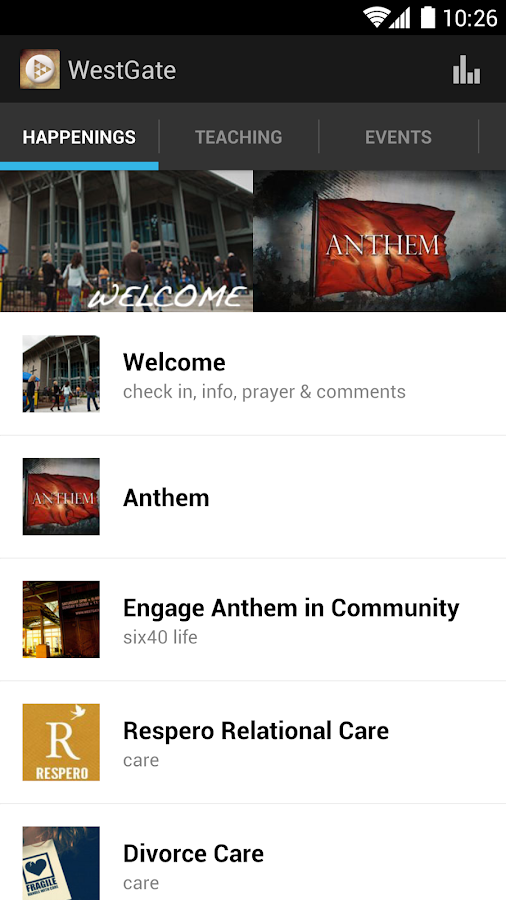 WestGate Church - screenshot