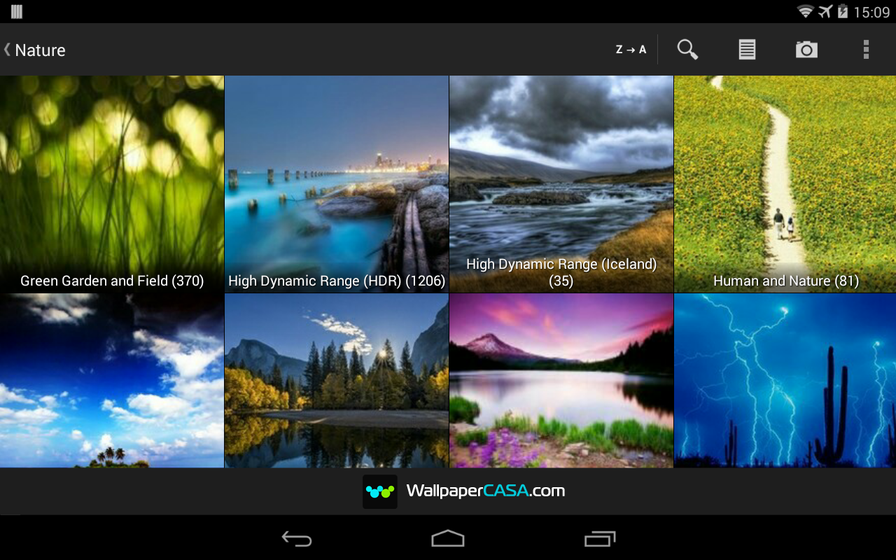 Wallpaper downloader app - Wallpaper Casa Hd Screenshot