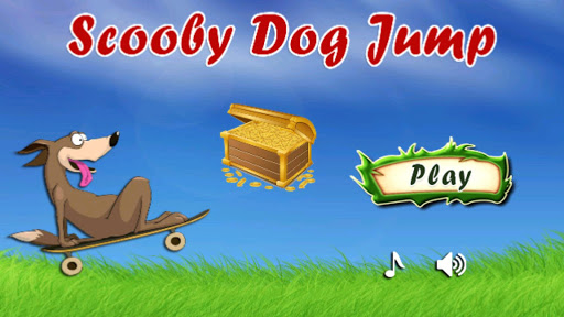 Scooby Dog Skateboard Jump