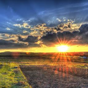 Sunset near Cluj by Cristi Vescan - Landscapes Sunsets & Sunrises ( sunset )