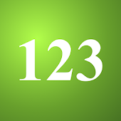 Numbers Flash Cards 123