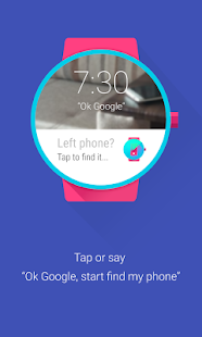 Find My Phone (Android Wear) - screenshot thumbnail