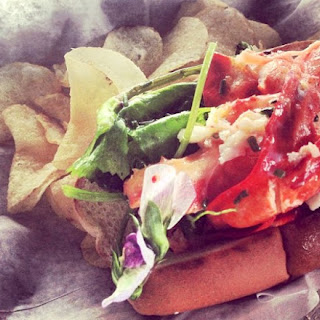 Sam Talbot's Butter-Poached Lobster Roll