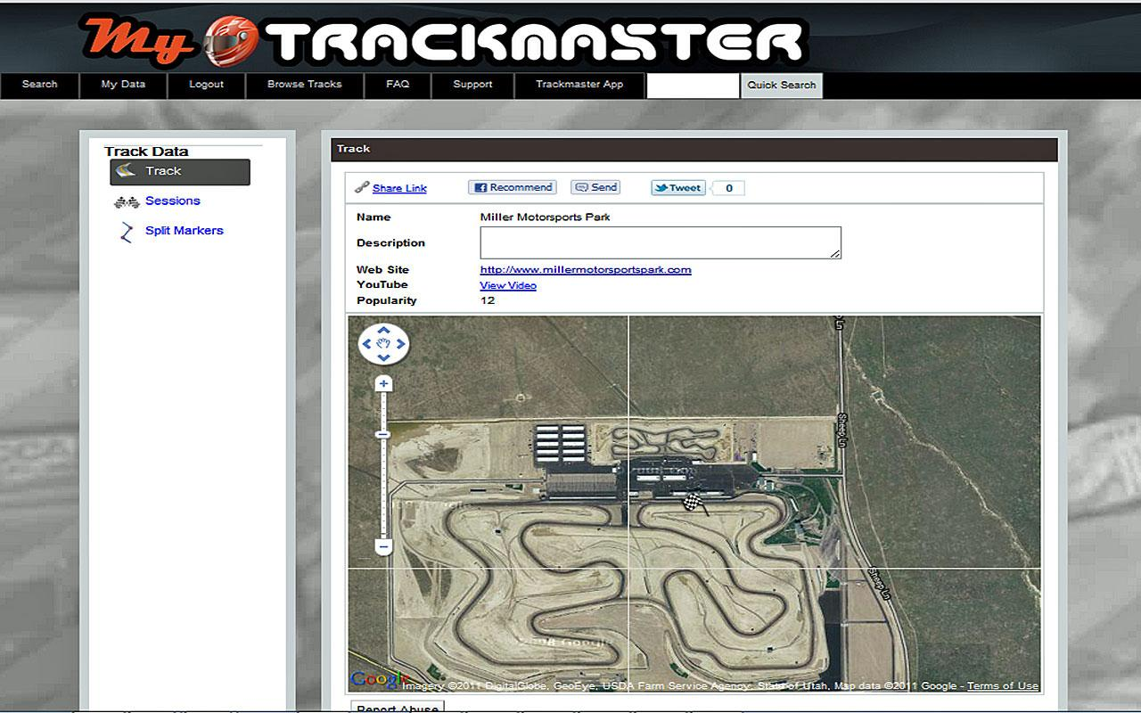 Trackmaster- screenshot