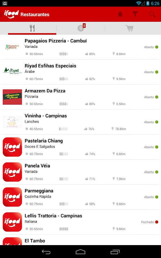 iFood - Delivery de Comida - screenshot