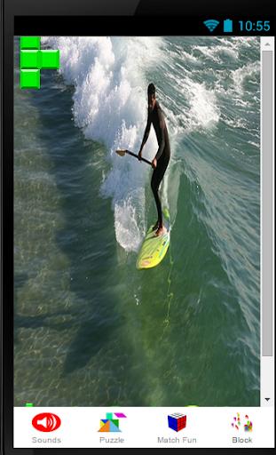 Surfers Surf