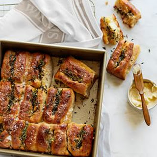Parker House Rolls with Thyme