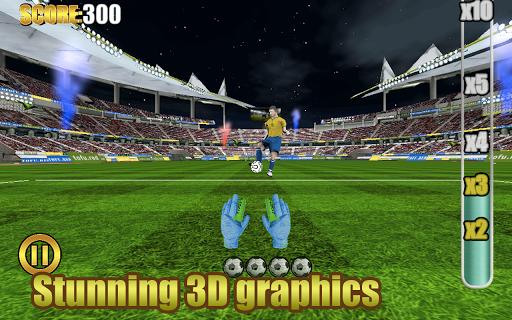 世界杯守門員足球遊戲 3D 免費版
