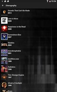 Marillion - Official App - screenshot thumbnail