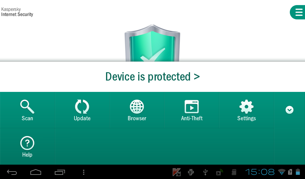 Kaspersky Internet Security - screenshot