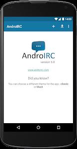 AndroIRC v4.0.3