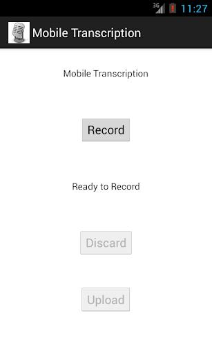 Mobile Transcription
