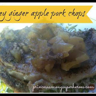 Honey Ginger Apple Pork Chops
