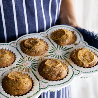 Salted Caramel Apple Muffins.