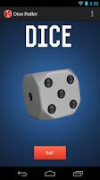 Screenshot of Dice Roller