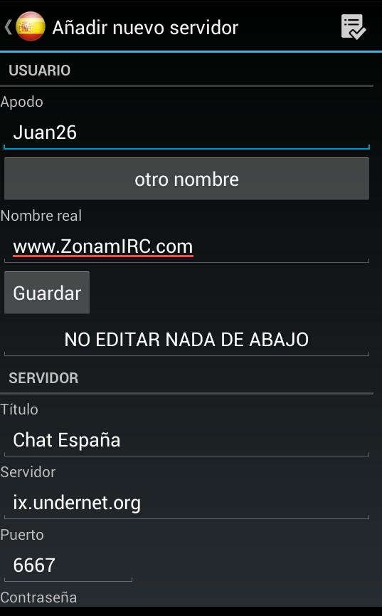 Chat España- screenshot
