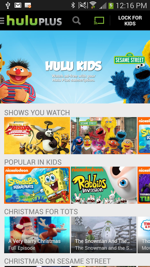Hulu Plus - screenshot