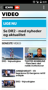 DR Nyheder- screenshot thumbnail