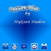 ADW theme StyGian Blue