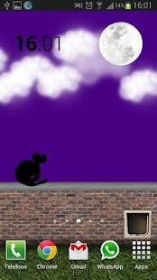 Animated Cat Live Wallpaper - screenshot thumbnail