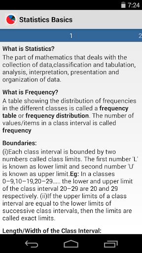 玩教育App|Statistics Basics免費|APP試玩