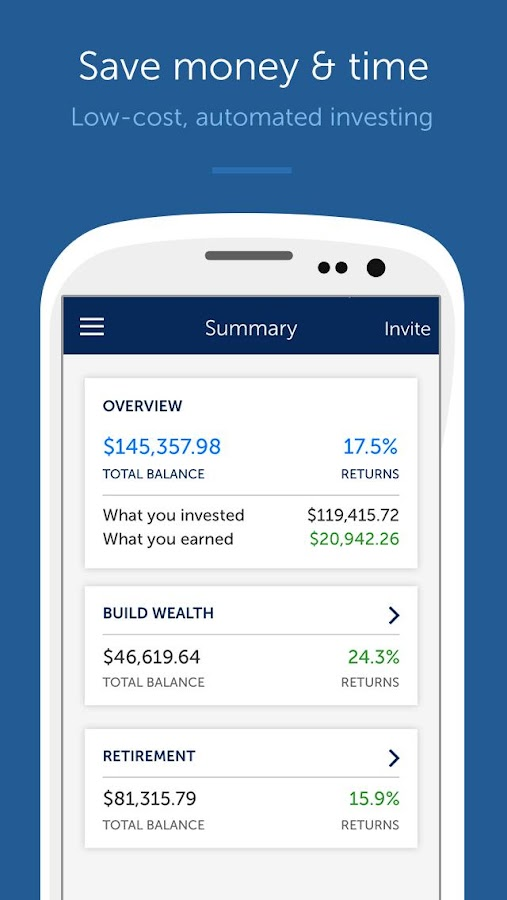 Betterment - Smarter Investing - screenshot