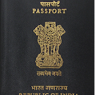 Indian passport application icon