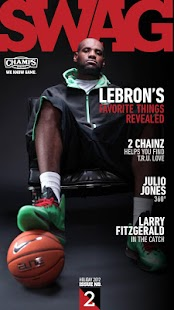 SWAG Magazine by Champs Sports - screenshot thumbnail