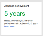 .Realização no Google AdSense