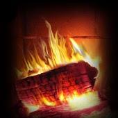 Cozy Fireplace theme 480x800