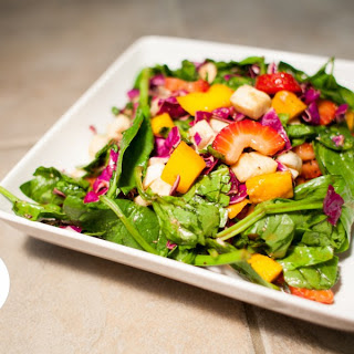 Marla's Famous Spinach Salad.