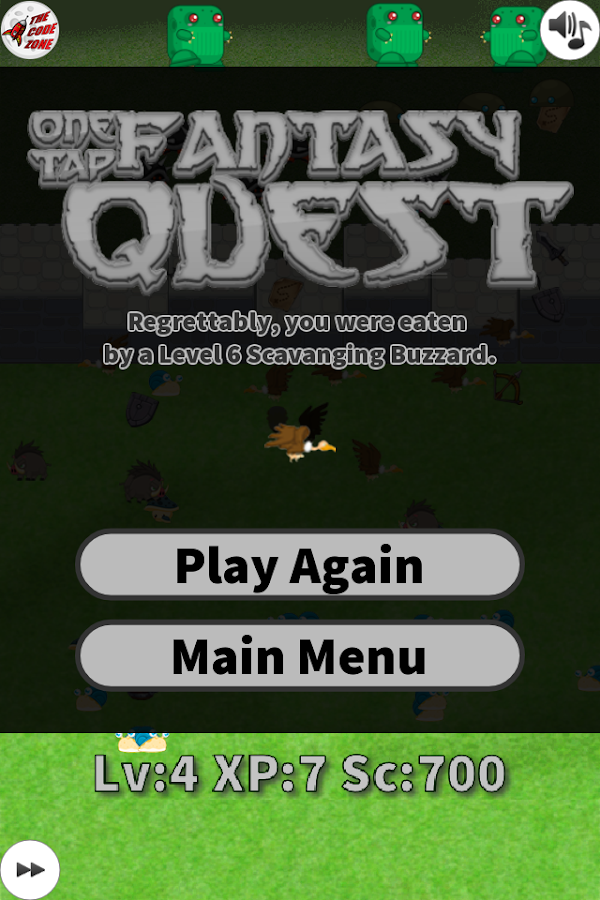 One Tap Fantasy Quest- screenshot
