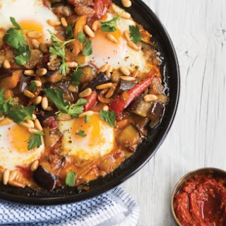 Spicy Eggplant and Egg Tagine
