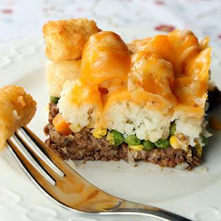 Tater Tot Shepherd's Pie