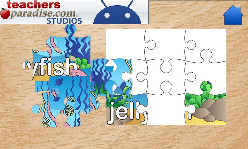 Ocean Jigsaw Puzzles For Kids- screenshot