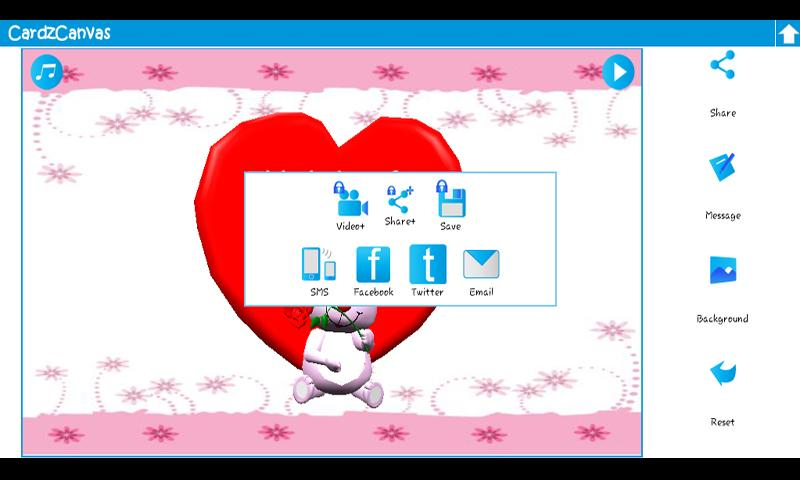 3D Animated Greeting Cards - screenshot