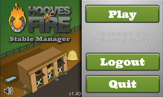 Screenshot of Hooves of Fire Stable Manager