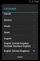 Screenshot of eSpeak
