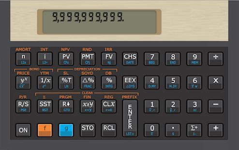 12C RS Finance Calc Free