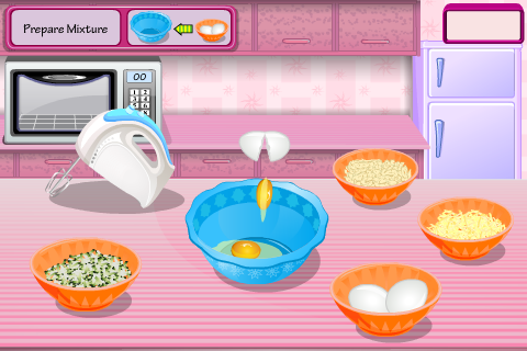 Zucchini Bites- screenshot