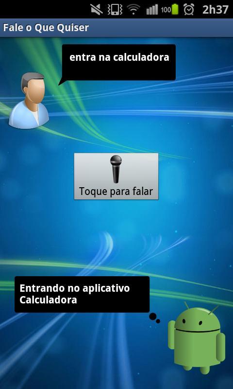 Fale o Que Quiser - screenshot