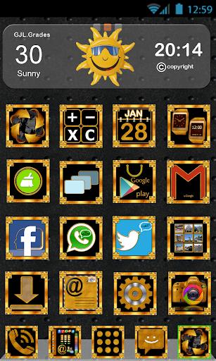 GLE theme Gold Black