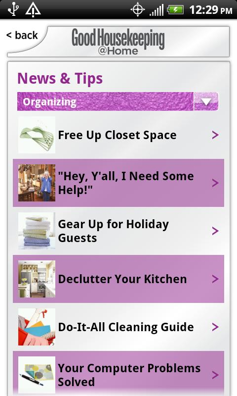 Good Housekeeping @Home - screenshot